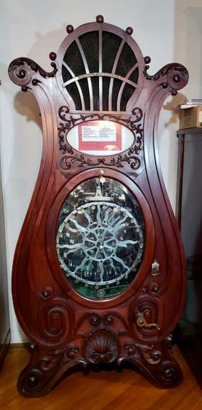 Large & Impressive 2-Day Music Machine Auction: Friday & Saturday, April 16 & 17 @ 9:00 A.M. Each Day