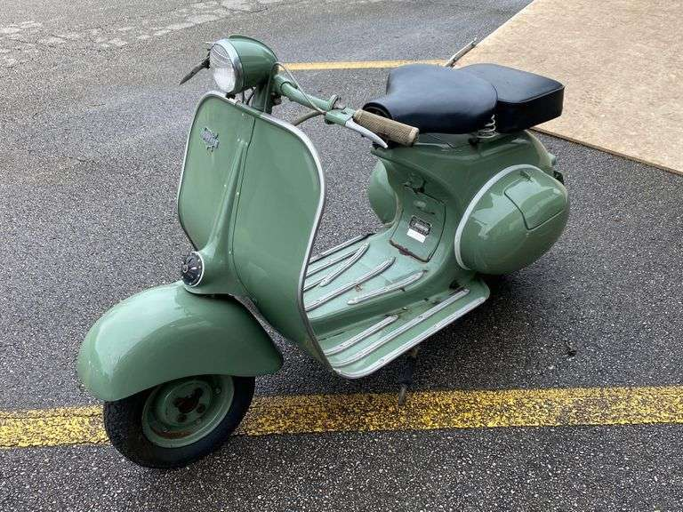 1952 Vespa Scooter to be Sold, Saturday April 17, @ 9:00 A.M.