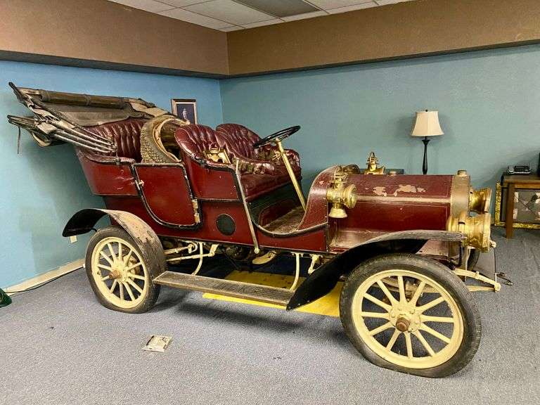 1907 Buick Model F Antique Touring Car To Be Sold, Saturday, April 17th, @ 9:00 A.M.