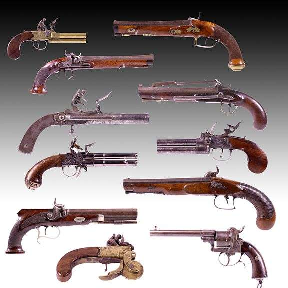 Stanton's Firearm Auction, Friday, May 14th, @ 8:00 A.M. including  A Fantastic Collection of Antique Percussion and Flintlock Firearms