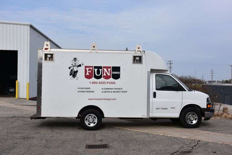 "Public Auction, ""Fun Services"" of Grand Rapids, Tuesday Morning, June 22nd @ 10 A.M."