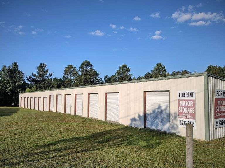 2 Self Storage Facilities, Swainsboro, GA