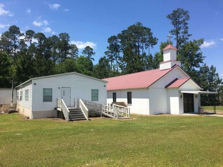 Church at 199 Mud Creek Road, Lakeland, GA