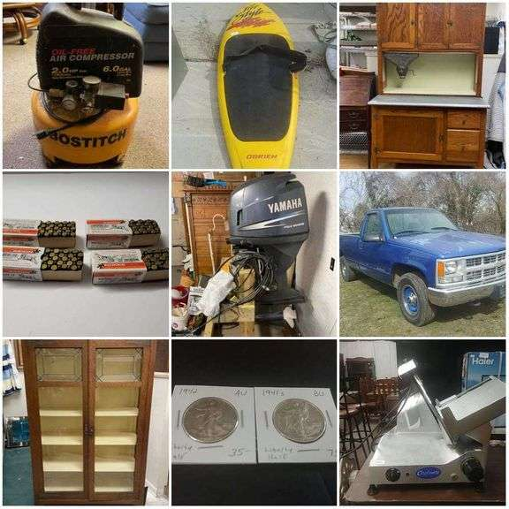 3/22/21 - Combined Estate & Consignment Auction