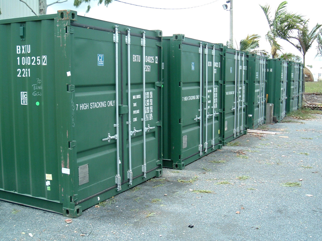 Tomkins 20' Shipping Containers
