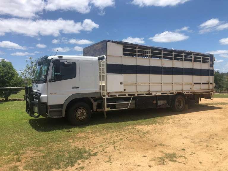 2009 Mercedes-Benz Atego 1629 Livestock Truck