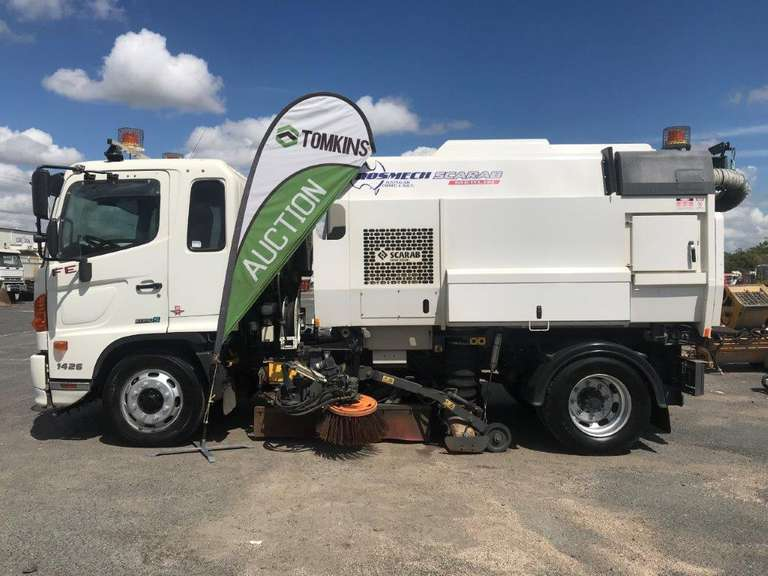 "ONLINE OFFERS - 2016 Street Sweeper Truck - ""SOLD"""