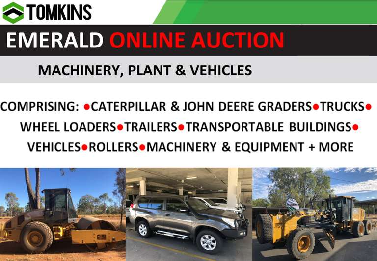 Online Vehicles, Machinery & Assets EMERALD
