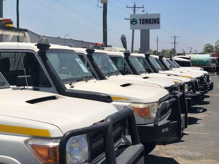 August - Light Vehicle & Truck ONLINE Auction - Rockhampton