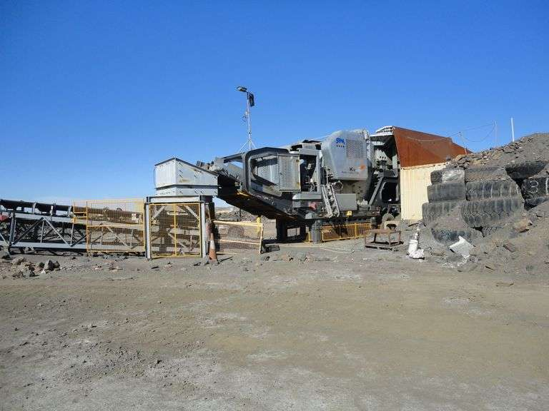2017 Shibang K2 Mobile Crushing Station