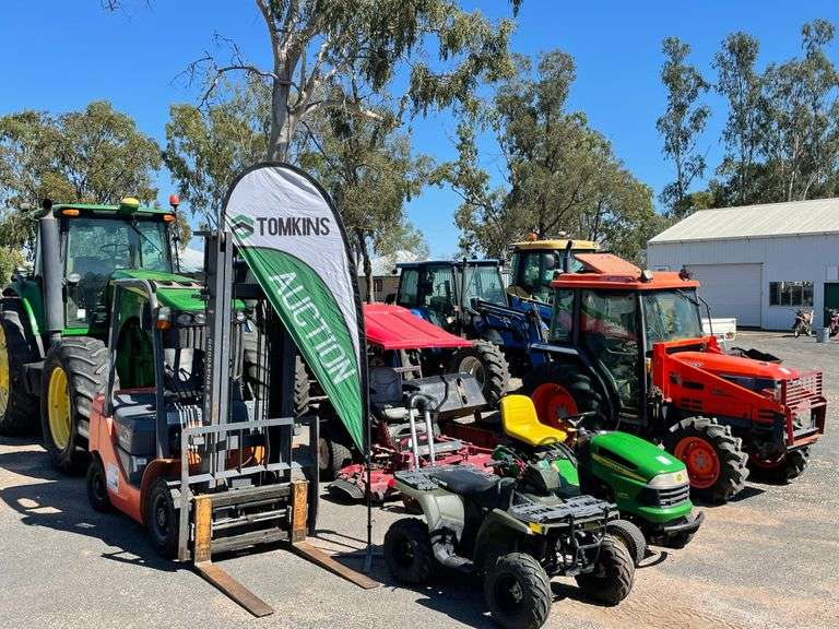 Machinery, Trucks & Equipment ONLINE Auction OVER 600 LOTS - Emerald QLD A/C Department of Agriculture & Fisheries