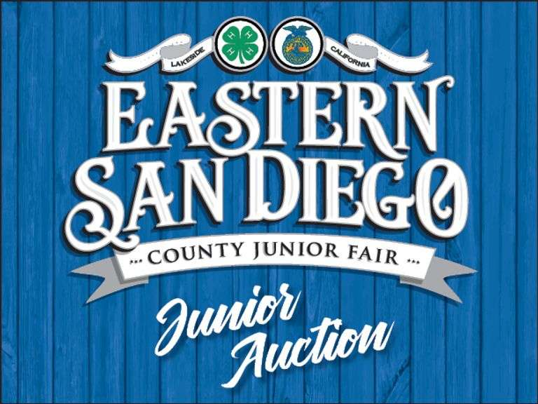 Eastern San Diego County Junior Livestock - ADD-ONS ONLY