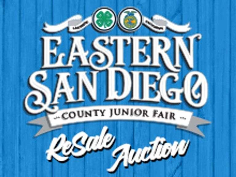 EASTERN SAN DIEGO COUNTY JUNIOR FAIR - RESALE AUCTION