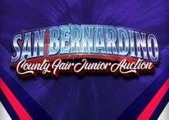 SAN BERNARDINO COUNTY FAIR JUNIOR AUCTION