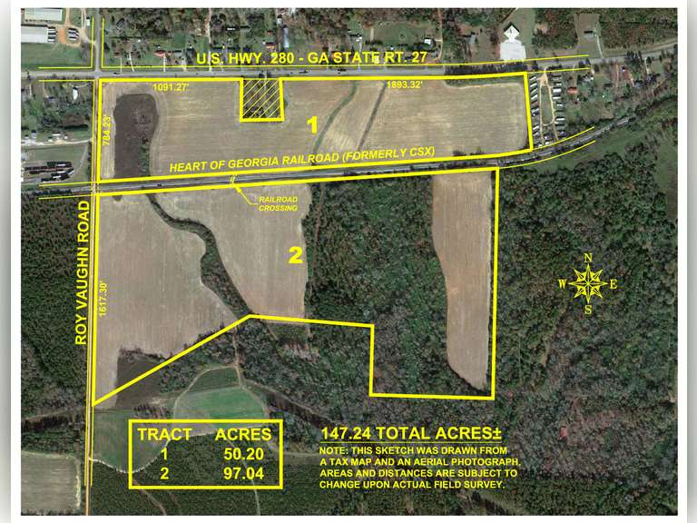 147+/- Acre Row Crop Opportunity - Sumter County, Georgia