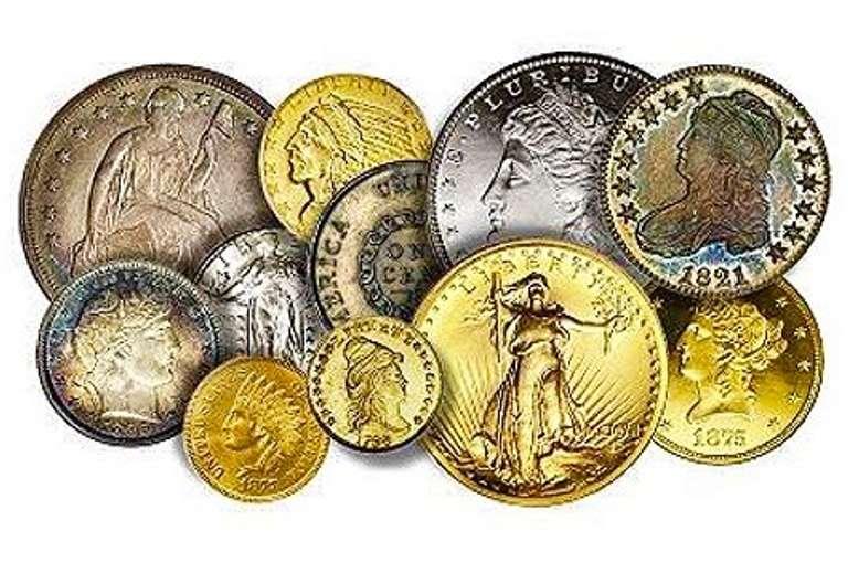 COINS, NUMISMATICS & STAMPS