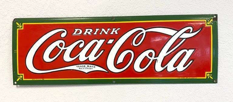 FANTASTIC ANTIQUE & VINTAGE ADVERTISING COLLECTION AT AUCTION