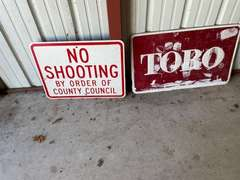 Over 200 SIGNS & Antiques!