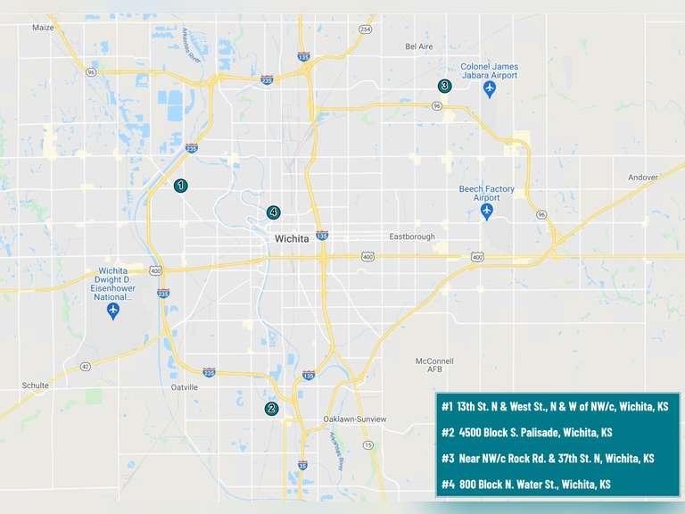 #1 - 13th St. N & West St., Wichita, KS