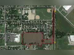 Neighborhood Lake near Maple St. & Marshall Ave., South Hutchinson, KS