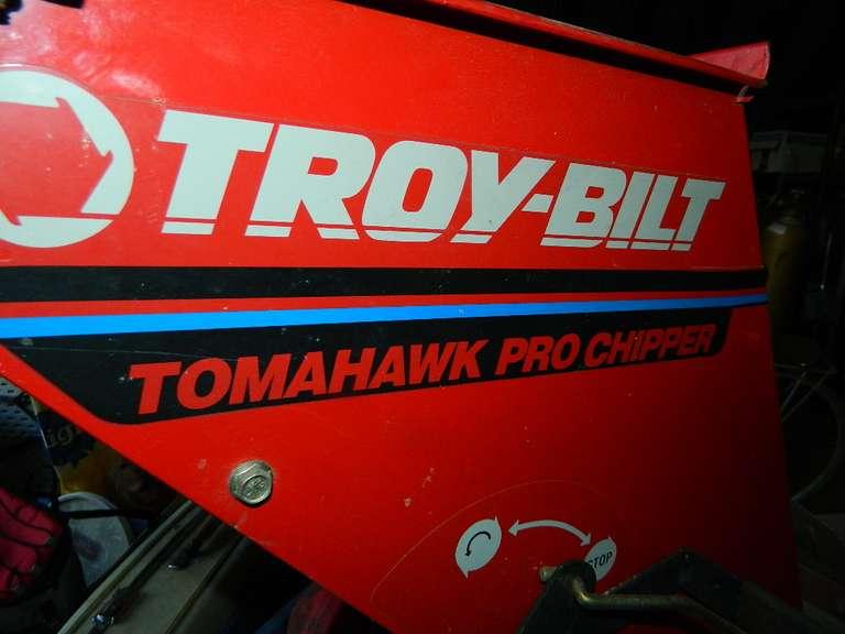 Troy-Bilt 10 HP Tomahawk Pro Chipper