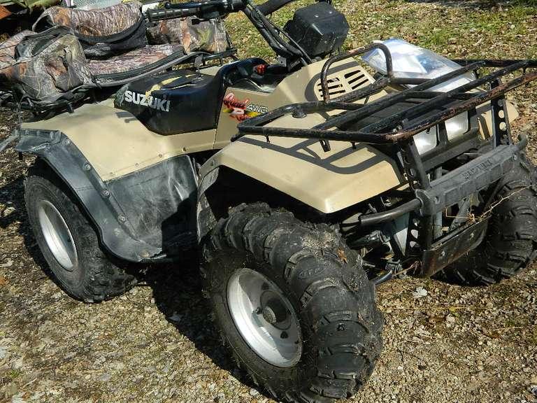 Suzuki Quad Runner 4WD ATV