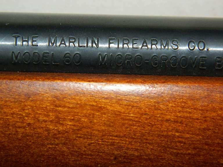 Marlin Firearms 22 Cal. Model 60 Rifle with BSA Scope
