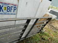 Insulated Hand Made Box Trailer with Storage Box on Front, Ramp Gate on Back