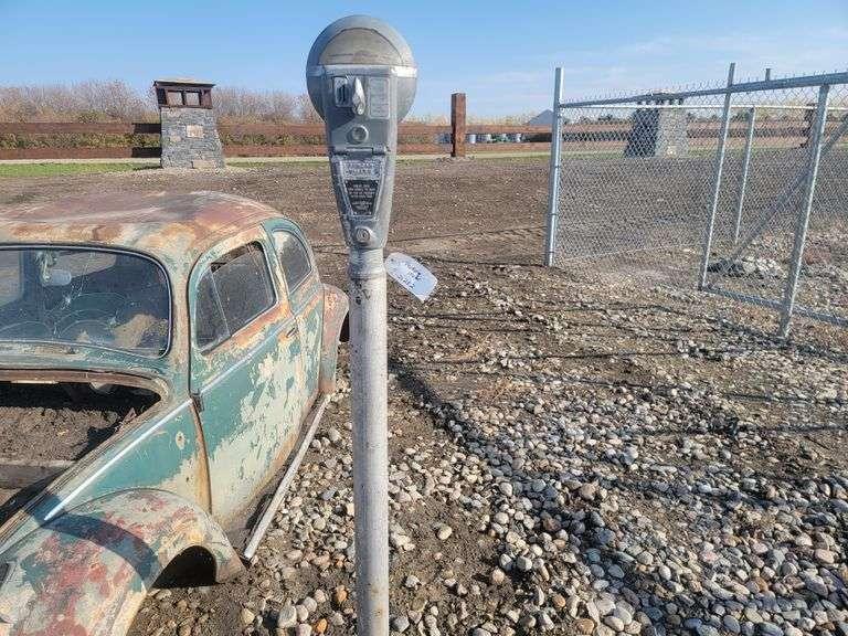 Old Parking Meter