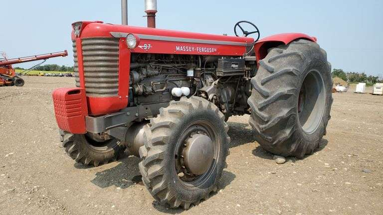 Massey 97 MFWD Antique Tractor