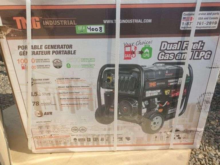 Gas and LPG generator 10000