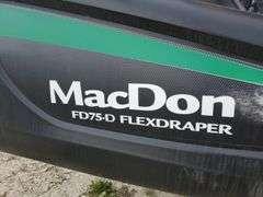 2017 MacDon FD75-45 Header